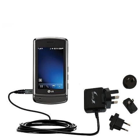 2A Steckdosen-Ladegerät International AC mit Marken-TipExchange für LG VX9700