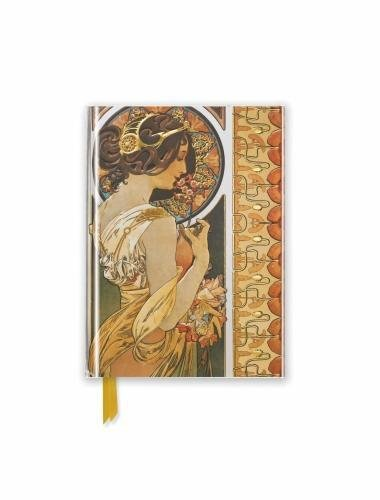 Mucha: Cowslip (Foiled Pocket Journal) (Flame Tree Pocket Books)