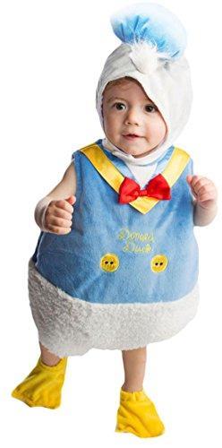 erdbeerloft - Unisex - Baby Karneval Kostüm Donald Duck Tabard , Mehrfarbig, Größe 80-, 1- Jahre (Baby Rocky Horror Kostüm)