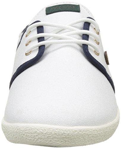 Faguo Cypress, Baskets Basses Mixte Adulte Blanc (White)