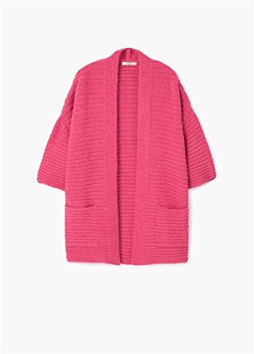 YiLianDa Cardigan Femme Veste en Tricot Manteau Automne à Manches Longues Outwear Gilet comme image