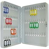 Wedo 10256537X - Armario para llaves, 28 x 6 x 37 cm , gris luminoso