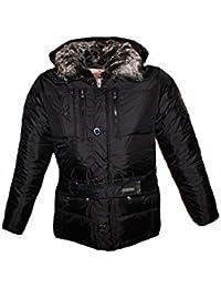 Tisey® F-8 Steppjacke Sweatjacke Herren Winter-Jacke gefüttert Jacke Mantel Daunenjacke sky jacke winterjacke herren winter jacke