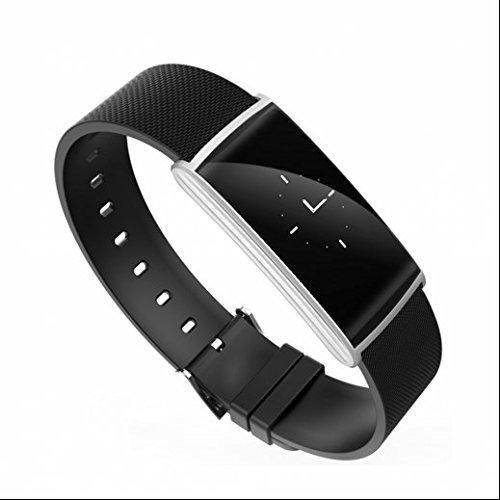 Fitness Tracker Sport Bluetooth Armband sport Uhr,Herzfrequenz-Messgerät,sport uhr Übung Tracker,Multi-Sport-Modus Monitor Anruf Nachricht Erinnerung für IOS Android Phone
