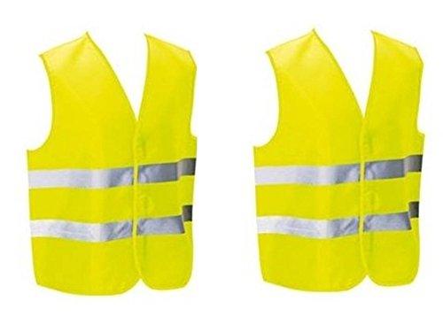 Moto Gilet sécurité gilet réflecteur gilet Fluo jaune taille 3xl