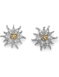 0b9db6e93420 Oliver Weber Pendientes Edelweiss rhod. Crystal with Crystals from  Swarovski pendientes para mujer