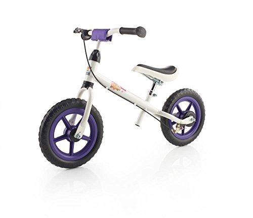 Preisvergleich Produktbild Kettler Laufrad Speedy Pablo 2.0 – das ideale Lauflernrad – Kinderlaufrad mit Reifengröße: 12,5 Zoll – stabiles & sicheres Laufrad ab 3 Jahren – weiß & lila