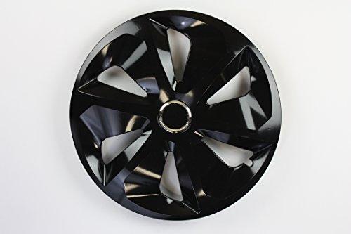 ZentimeX Z731685 Radkappen Radzierblenden universal 14 Zoll black