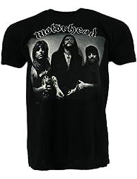 Motorhead Cover Black T-shirt Official Licensed Music