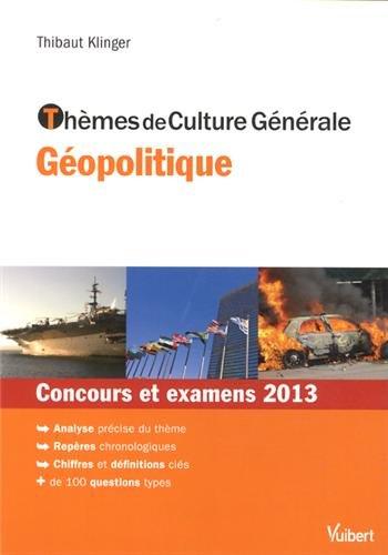 Thèmes de Culture Générale géopoliti...