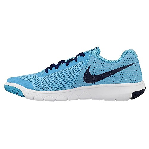 NIKE Sneaker NIKE FLEX EXPERIENCE 5 (GS) CHLORINE BLUE/BINARY BLUE- CHLORINE BLUE/BINARY BLUE-