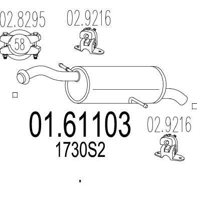 MTS 01.61103 composante
