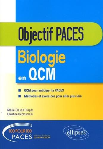 Biologie en QCM par Marie-Claude Durpès, Faustine Declosménil