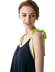 Bemorewithless Ladies Sleeveless Sling Shirt Loose Upper Garment for Women
