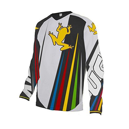 Uglyfrog 2017 Radtrikot Jersey Motocross Mountain Bike Downhill Shirt Herren Kurzarm