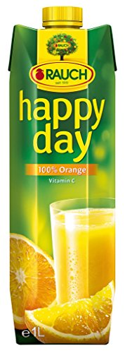 Happy Day - 100% Orangensaft - 1,0l Reich an Vitamin C