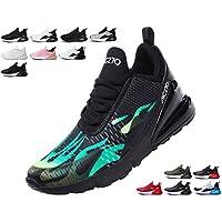 SINOES Zapatillas Running Hombre Mujer Zapatillas Deportivas Hombre De Cordones En Gimnasio Aire Libre Y Deporte Transpirables Casual Zapatos Gimnasio Correr Sneakers