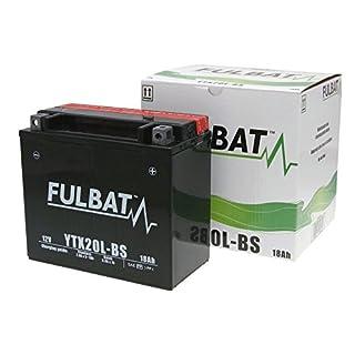 Batterie FULBAT YTX20L-BS MF wartungsfrei für YAMAHA XV1700ATMV, AV, AVC 1700 ccm [ inkl.7.50 EUR Batteriepfand ]