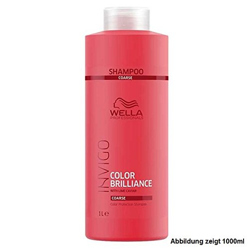 Wella Invigo Color Brilliance Protection Shampoo 500 ml Pflegendes Shampoo für coloriertes & krauses Haar