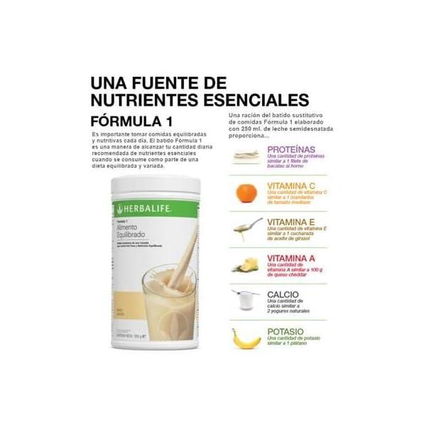 batidos formula 1 herbalife opiniones
