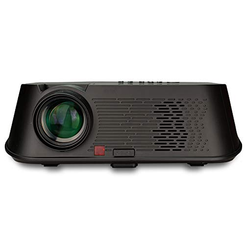 ZUKN HD Video Projector 3500 Lumen Home Theater Projector unterstützt 1080P Full HD, kompatibel mit Fire TV Stick, Roku, PS4, Smartphone, PC und Anderen Filmen, TV und Spiele