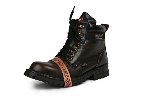 Bacca Bucci Men Brown Genuine Leather Boots 9 Uk
