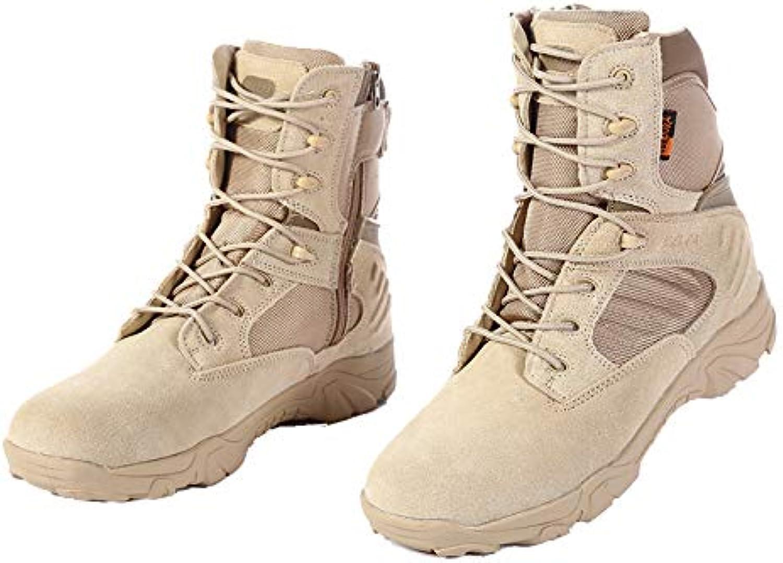 HCBYJ scarpa Stivali Alti da Deserto, Stivali  Militari Tattici inPU  per Aiutare Gli Stivali da Deserto nel Deserto   La Qualità Del Prodotto    Scolaro/Ragazze Scarpa
