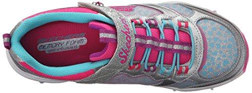 Calzature sportive per ragazza, colore Grigio , marca SKECHERS, modello Calzature Sportive Per Ragazza SKECHERS SKECH AIR STARDUST Grigio Grigio