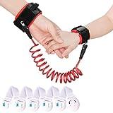 Xcellent Global 2.5m Kind Anti Lost Handgelenk Link Gurtband Strap Seil Leine Sicherheit Gehen Hand Gürtel mit 5 Pack Kindersicherung Schlösser HG205