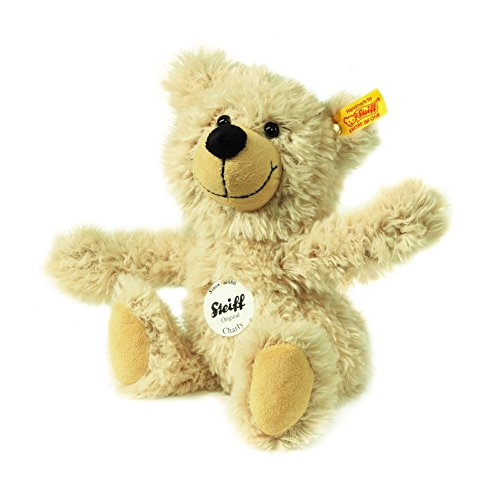Steiff-23cm-Charly-Dangling-Teddy-Bear-Beige
