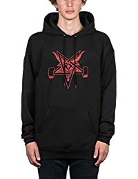 Thrasher Blackout Pullover Hood Black/Red