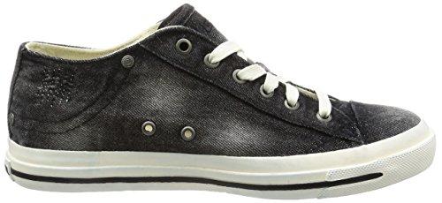 Diesel Herren Magnete Exposure Low I Sneaker Schwarz (Black)