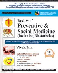 Review of Preventive and Social Medicine (Including Biostatistics) with Interactive DVD-ROM