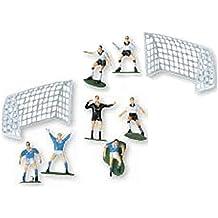 Set calcio decorazione per torta campo sportivo