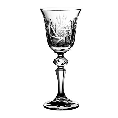 Crystaljulia 1223 Sherryglas Crystalite 6 Stück, 60 ml -