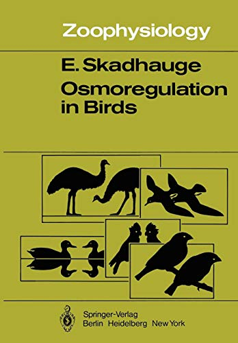 Osmoregulation in Birds (Zoophysiology, Band 12)