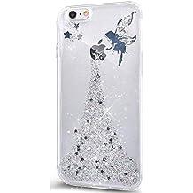 coque iphone 7 glitter noir