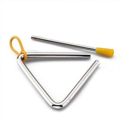 TOOGOO(R) Triangulo Percusion Instrumentos Musicales Sacudidor Vaquero forjado cena