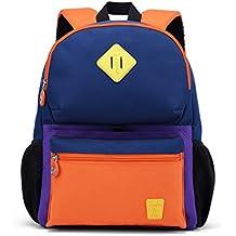 CJH Alumnos de la mochila escolar Bolsos infantiles de 1 y 2 años Niños y niñas
