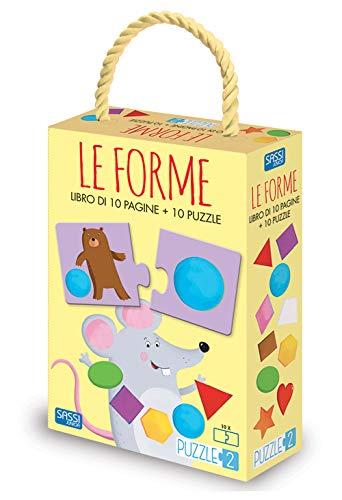 Le forme. Puzzle 2. Ediz. a colori. Con puzzle