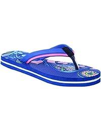 HD Women's Blue Synthetic Flip-Flop For Casual Wear