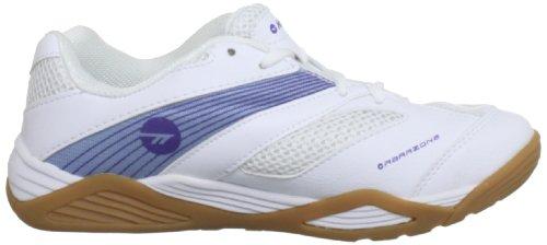 Hi-Tec  Viper Court, Chaussures À lacets femme Blanc - White/Lilac/Purple