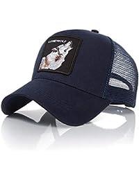 Lomire® Gorra de béisbol Animales Bordado Verano,Unisex Algodón Malla Sombreros de Sol Ajustable