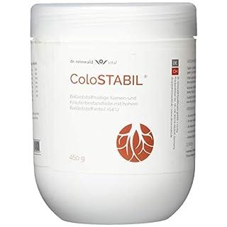 dr.reinwald ColoSTABIL - Präbiotische Ballaststoffe  & Kräuter für Magen-Darm-Trakt & Ausscheidung - Unterstützt eine normale Verdauung, die Immunabwehr des Organismus u.v.m. - 450g