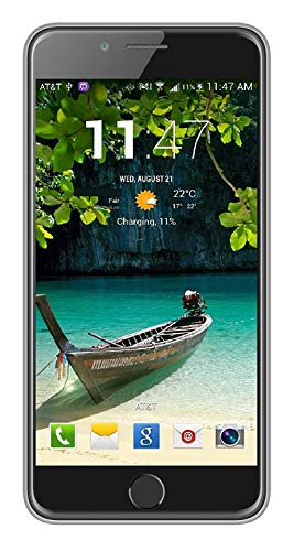 IKall 4G Mobile with 1GB Ram and 8GB Internal Memory - Silver