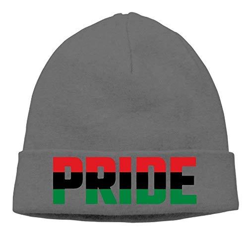 Fashion Baseball Caps Hats Adult Pan African Unia Africa Pride Flag Winter  Beanie Hat Skull Cap 62f24f0f7f