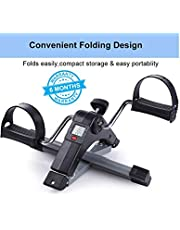 Ozoy Fitness Cycle Foot Pedal Exerciser Foldable Portable