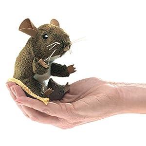 Desconocido Folkmanis Puppets 2652  - Mini ratón del Campo