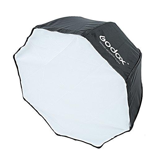 Godox 120CM Flash Speedlite Octagon Softbox für Fotostudio Studioleuchte Studio Strobe Light Universaltyp Strobe-flash Softbox