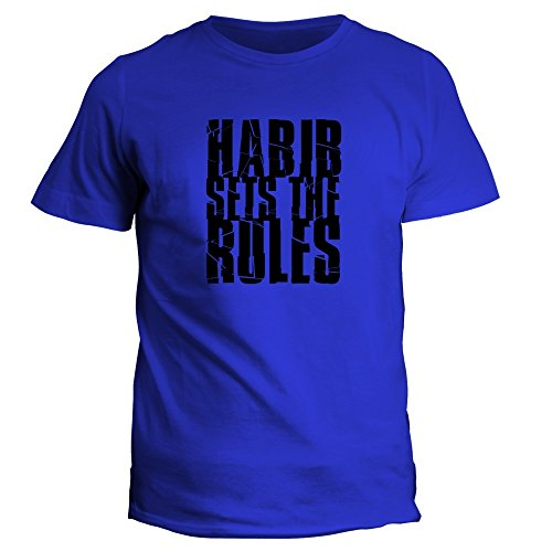 idakoos-habib-sets-the-rules-hommes-t-shirt